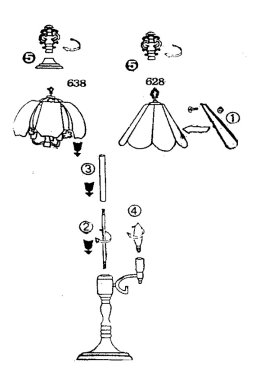 lifestyle lighting touch lamp repair assembly diagram