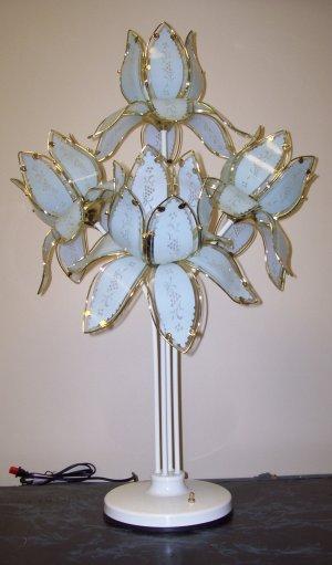 Lotus Flower Table Lamp Free Shipping