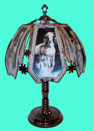 Horse Touch Lamp 2
