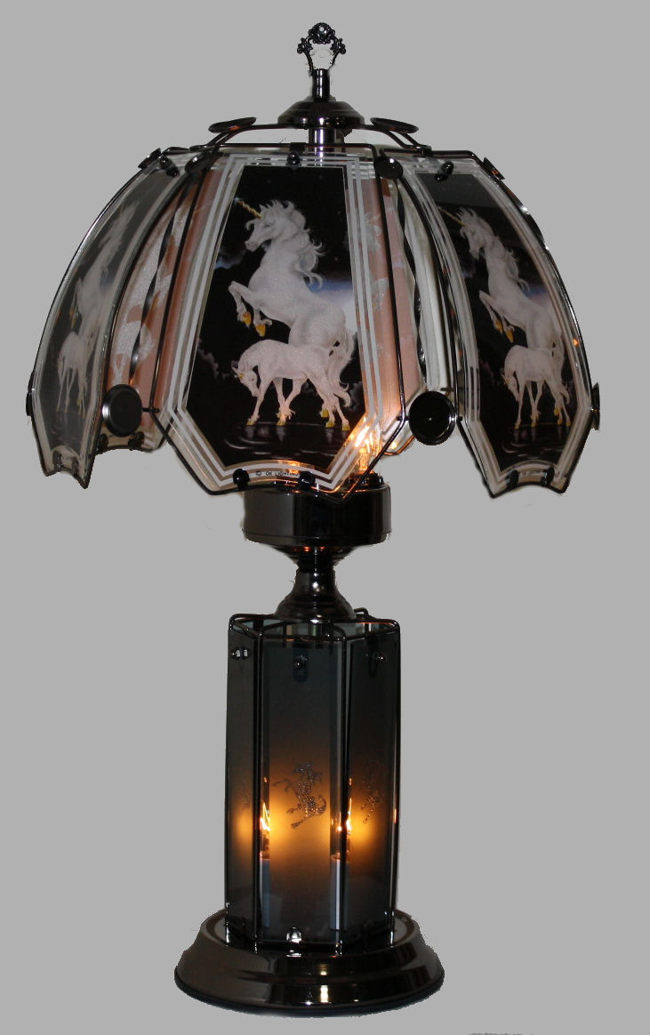 Unicorn Upper Lower Touch Lamp