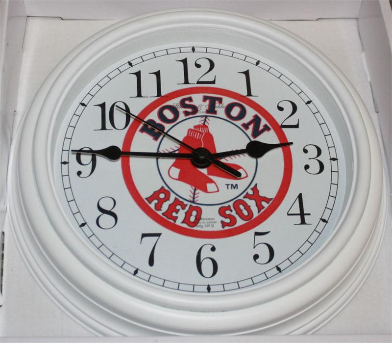 Boston Red Sox Clock Non Neon