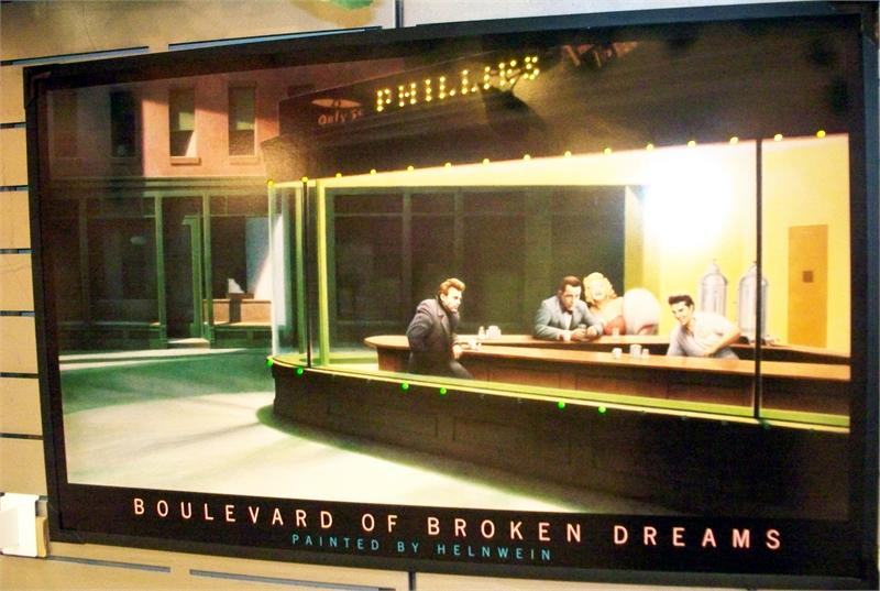 Boulevard Of Broken Dreams Led Picture