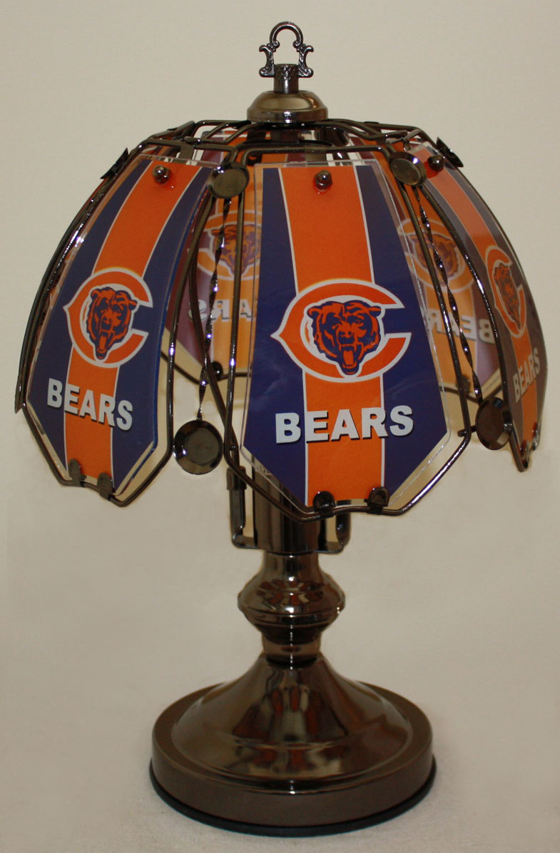 Chicago Bears Small Touch Lamp #CB7