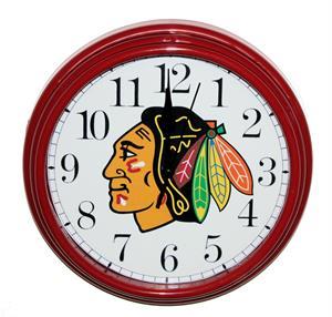 Chicago Blackhawks Clock Non Neon