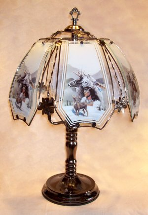 Brass Table Lamp Traditional