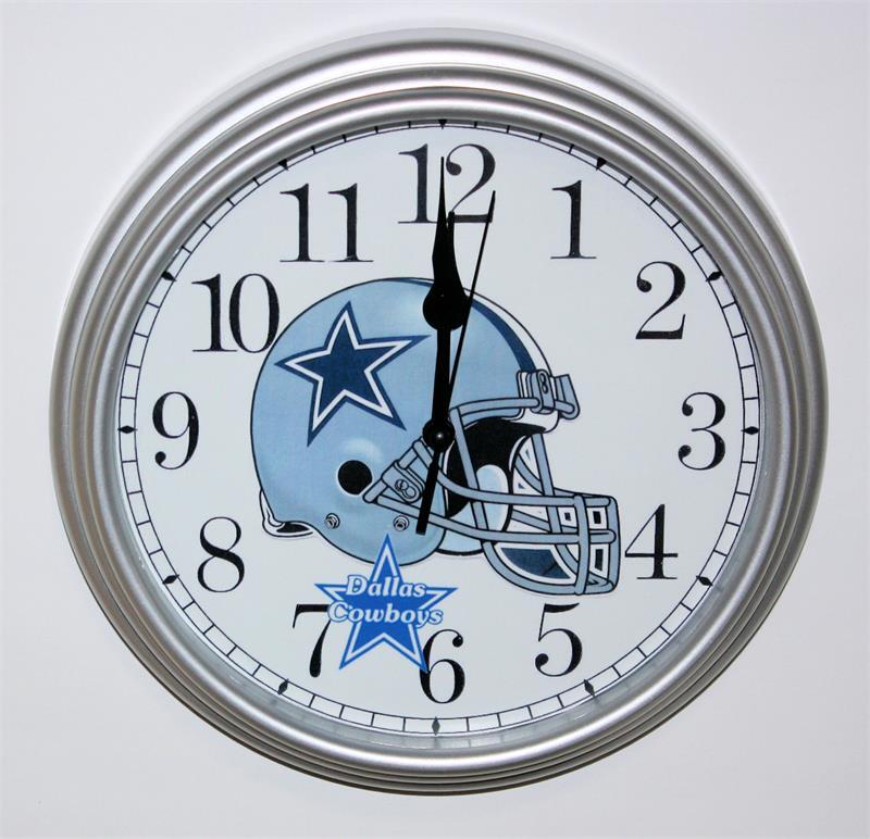 Dallas Cowboys Non Neon Clock